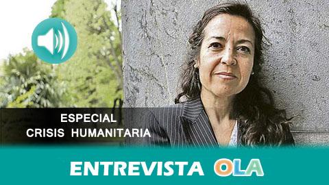 """""""El proceso de acogida de refugiados se está agilizando y eso es muy positivo pero hay que hacer un esfuerzo mayor para contar con un programa de acogida e integración sólido"""", María Jesús Vega, ACNUR"""