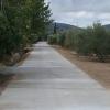 Ochenta y cuatro explotaciones ganaderas de la localidad granadina de Huétor Tájar se beneficiarán de la pavimentación de dos nuevos caminos que elevan el porcentaje de caminos asfaltados al 95%