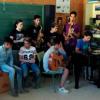 Estudiantes de Atarfe celebran la segunda edición del Festival 'Viva la Vega'  en el Centro Cultural Medina Elvira en el que defienden mediante la música y poesía el paisaje natural de la Vega