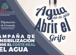 Benalúa es una de las siete localidades que están participando en la campaña de sensibilización 'Agua no es solo abrir el grifo' promovida por la Red Granadina de Municipios hacia la Sostenibilidad