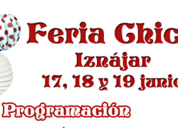 La localidad cordobesa de Iznájar celebra este fin de semana su Feria Chica con las tradicionales cucañas, actuaciones musicales, pasacalles de cabezudos, fiesta de la espuma y actividades infantiles