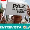 """""""Los colombianos tenemos que apoyar el proceso de paz, ya que aunque no resuelve los problemas centrales del país sí supone un gran avance"""", Sandra Taborda, colombiana residente en Andalucía"""