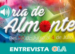 """""""Este año hemos querido potenciar el talento de los vecinos y vecinas de Almonte, por eso la Feria está protagonizada por ellos"""", Manuela Díaz, concejal de Festejos, Educación y Cultura de Almonte (Huelva)"""