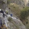 El Parque Natural de las Sierras de Cazorla, Segura y Las Villas estrena vía ferrata ubicada en el término municipal de La Iruela con el objetivo de aumentar el número de visitantes de este entorno jienense