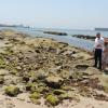 La playa de Guadarranque, en San Roque, acogerá una regeneración simbólica llevada a cabo por movimientos vecinales en protesta por el inmovilismo de las autoridades ante su progresiva desaparición