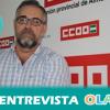"""""""Si Almería tuviera unas infraestructuras ferroviarias mejores, habría un aumento del PIB de la provincia del 0,7 %"""", José Carlos Tejada, coordinador de la Mesa del Ferrocarril en la provincia de Almería"""