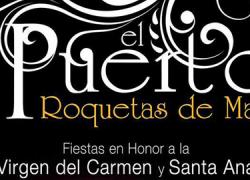 Pasacalles, procesión marítima, cucaña y conciertos componen el programa de actividades de las fiestas de El Puerto, en el término municipal de Roquetas de Mar, que se celebrarán del 23 al 26 de julio