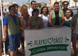 La campaña medioambiental 'Playas de Cádiz. Cuídalas, siéntelas tuyas' llega a la localidad de Barbate para concienciar y sensibilizar a la población sobre la protección y limpieza del litoral