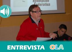 """""""Las vías pecuarias y caminos son públicos pero muchos municipios no lo tienen inventariados, esta ley debe servir para cambiar esta situación"""", Julio Perea, presidente de la Federación Andaluza de Montañismo"""