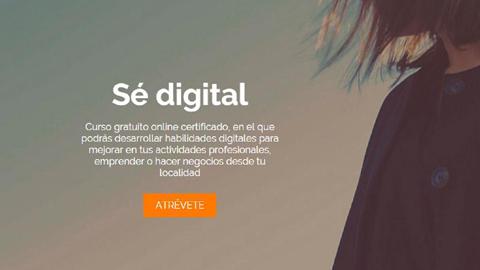 El sector emprendedor de la localidad jienense de Alcalá la Real podrá participar en la formación on-line gratuita 'Sé Digital' para impulsar las diferentes iniciativas comerciales dentro del mundo digital
