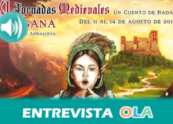"""""""Las Jornadas Medievales son emoción, quien venga a Cortegana se va a sumergir en otra época rodeado de duendes y hadas; una experiencia inolvodable"""", José Rafael Borallo, concejal Cultura – Cortegana (Huelva)"""