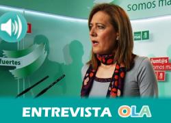 Rosario Andújar, presidenta de ARA, recuerda que, tras 30 años, el PER ha mejorado la vida en el mundo rural fijando la población y garantizando servicios básicos
