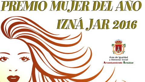 Iznájar reconoce la labor desarrollada en favor de la promoción social de la mujer rural con la convocatoria de la primera edición del Premio Mujer del Año