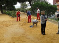 El Parque de Mazagón acogerá mejoras como la remodelación de la zona de juegos y trabajos de jardinería por medio del Plan de Fomento de Empleo Agrario