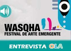 Almedinilla (Córdoba) acoge en noviembre el Wasqha Festival, un espacio expositivo a modo de escaparate a los y las artistas emergentes de la comarca