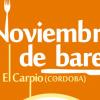 El Carpio fomenta el consumo en sus establecimientos gracias a la iniciativa ''Noviembre de bares'', en la que participarán 14 establecimientos locales