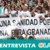 Los convocantes de las protestas contra la fusión hospitalaria en Granada aseguran que se trata de un eufemismo para justificar los recortes del sistema sanitario