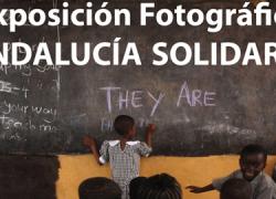 50 imágenes muestran la vida cotidiana en los países del Sur en la exposición fotográfica 'Andalucía Solidaria' llevada a cabo por el FAMSI en Iznájar
