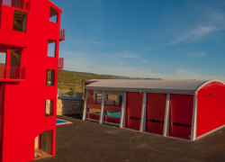 Martos prevé la apertura del Parque Comarcal de Bomberos en el segundo semestre de 2017 tras completar equipamiento y celebrar las oposiciones selectivas del personal