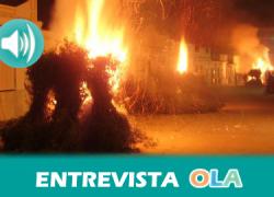 Trigueros celebra esta noche la 'Fiesta de las Candelas', una tradicional cita que llena las calles de hogueras para celebrar el día de San Antón