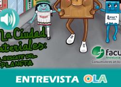 El alumnado de 500 colegios públicos andaluces recibe ´3R La Ciudad Materiales: al rescate del planeta´, un cuento editado para fomentar el consumo responsable