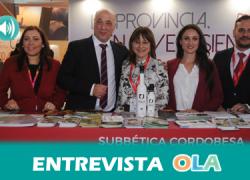 La provincia de Córdoba protagoniza hoy el pabellón de Andalucía en la Feria Internacional de Turismo, FITUR, ofreciendo actividades de historia, naturaleza y deporte