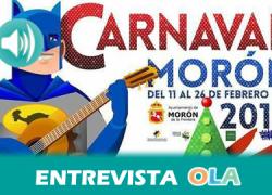 Morón de la Frontera ultima los preparativos para disfrutar, del 11 al 26 de febrero, de un Carnaval protagonizado por la convivencia, la gastronomía y el flamenco