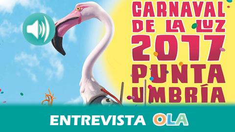 Punta Umbría acoge este sábado la tradicional 'Berdigoná', el pistoletazo de salida del Carnaval de la luz que se celebra del 17 de febrero al 5 de marzo