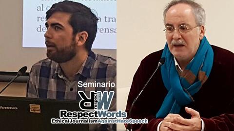 Scott Griffen y Sebastián de la Obra plantean los retos y las dificultades de los discursos de odio en Internet y a lo largo de la historia de la humanidad en la segunda jornada del seminario sobre periodismo ético