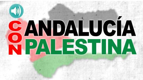 Escucha la campaña radiofónica 'Andalucía con Palestina' cuyo objetivo es la sensibilización sobre la situación actual de los derechos humanos de la población palestina
