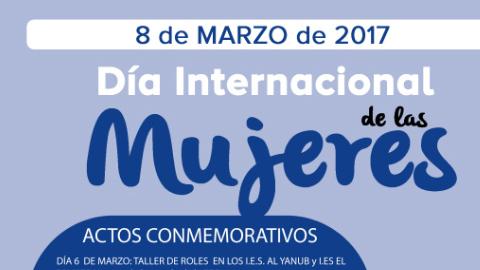 Cine, música, teatro, exposiciones y talleres de género son algunas de las actividades que tendrán lugar en Vera con motivo de la conmemoración del 8 de Marzo