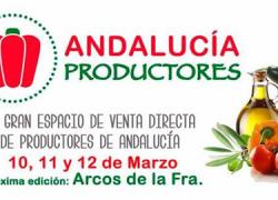 Potenciar el consumo de proximidad y dar a conocer la oferta agroalimentaria son los objetivos de la exposición 'Andalucía Productores' de Arcos de la Frontera