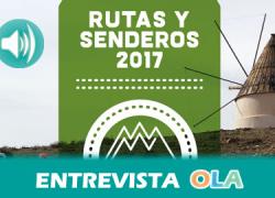 El programa provincial 'Rutas y Senderos de Almería 2017' pone en valor la diversidad de paisajes de la provincia almeriense en 80 recorridos