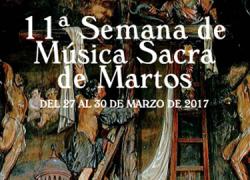 La XI Semana de Música Sacra de Martos se celebrará del 27 al 30 de marzo en los templos del casco histórico de la localidad para dar a conocer su riqueza patrimonial