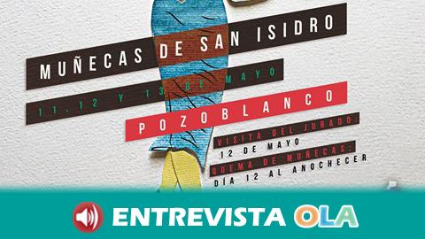Pozoblanco celebra este fin de semana la 'Muestra Tradicional de Muñecas de San Isidro' que acabarán consumidas por el fuego la noche del sábado