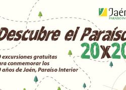 La población jienense podrá disfrutar de rutas gratuitas por los atractivos turísticos de cada municipio por medio del programa 'Descubre el Paraíso 20×20'