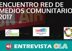 La Red de Medios Comunitarios analiza y debate en Málaga su propia definición y los modelos de participación o de intervención en sus territorios desde los medios ciudadanos