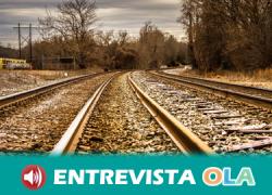 La Mesa en Defensa en Ferrocarril de Almería vuelve a las protestas por la falta de inversiones en la provincia dentro de los Presupuestos Generales del Estado