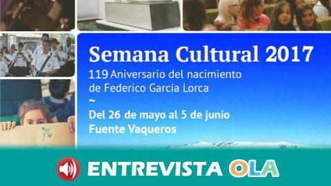 Fuente Vaqueros celebra el 119 aniversario del nacimiento del poeta universal Federico García Lorca