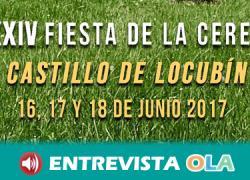 Castillo de Locubín ultima los preparativos de su XXXIV Fiesta de la Cereza como homenaje al producto estrella local
