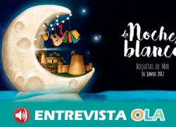 Roquetas de Mar pone en valor su sector comercial con la celebración de su II Noche en Blanco