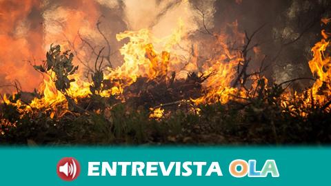 INFOCA recuerda que las altas temperaturas facilitan los incendios forestales pero la causa casi siempre es la acción humana