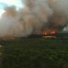 Susana Díaz garantiza que no habrá recalificación para el entorno natural afectado por el incendio