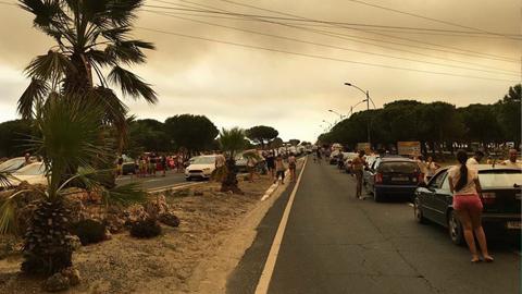 WWF pide que se investigue la relación entre la invasión de los montes y el incendio de Doñana