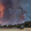400 personas tienen que ser desalojadas en la Cuenca Minera por un incendio forestal iniciado en Riotinto