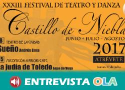 El Festival de Teatro y Danza 'Castillo de Niebla' fomenta la cultura clásica escénica con obras de Calderón de la Barca o Lope de Vega