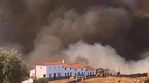 El Infoca declara controlado el incendio de Riotinto con un balance de más de 600 hectáreas calcinadas