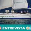 El velero Diosa Maat vuelve a navegar por aguas andaluzas para promover la defensa, la protección y la conservación del medio marino