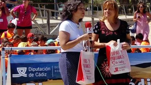 La campaña para concienciar sobre la importancia medio ambiental de playas y pantanos llega a Sanlúcar de Barrameda