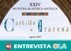 La XXIV Muestra de Música Antigua «Castillo de Aracena» acerca la música de la Edad Media, el Renacimiento y el Barroco
